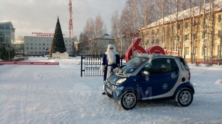 Smart Fortwo, 2001 год, 250 000 руб.