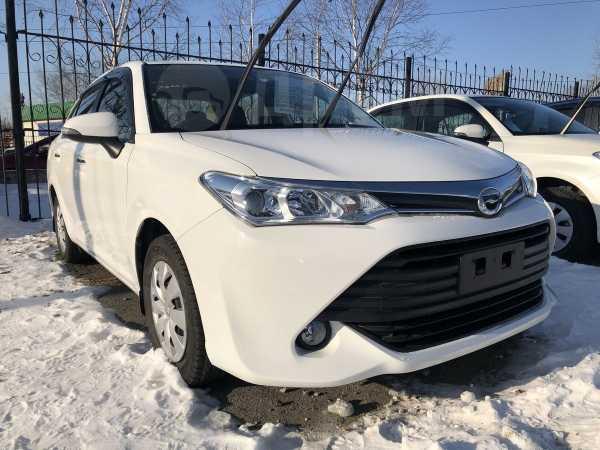 Toyota Corolla Axio, 2016 год, 665 000 руб.