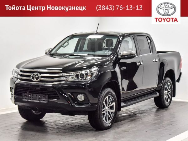 Toyota Hilux Pick Up, 2019 год, 2 647 000 руб.