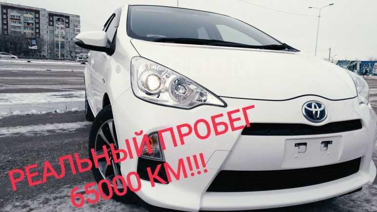 Toyota Aqua, 2014 год, 620 000 руб.