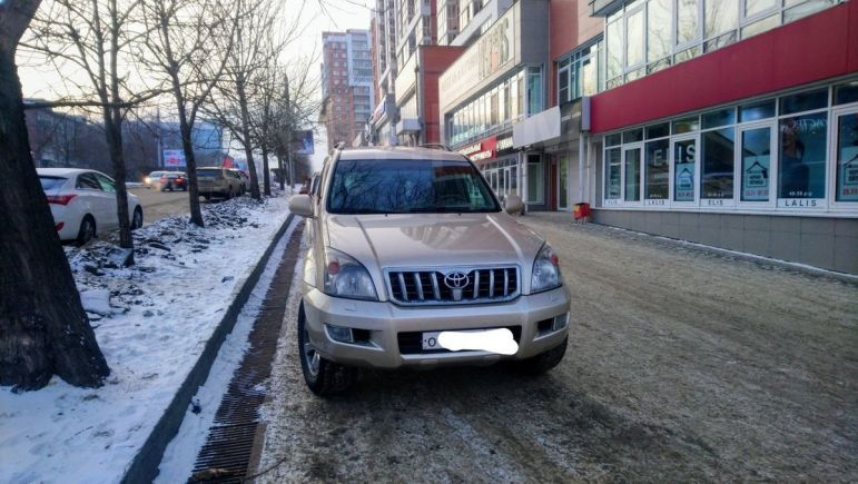 Toyota Land Cruiser Prado, 2008 год, 1 389 000 руб.
