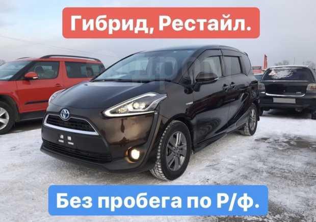 Toyota Sienta, 2015 год, 975 000 руб.