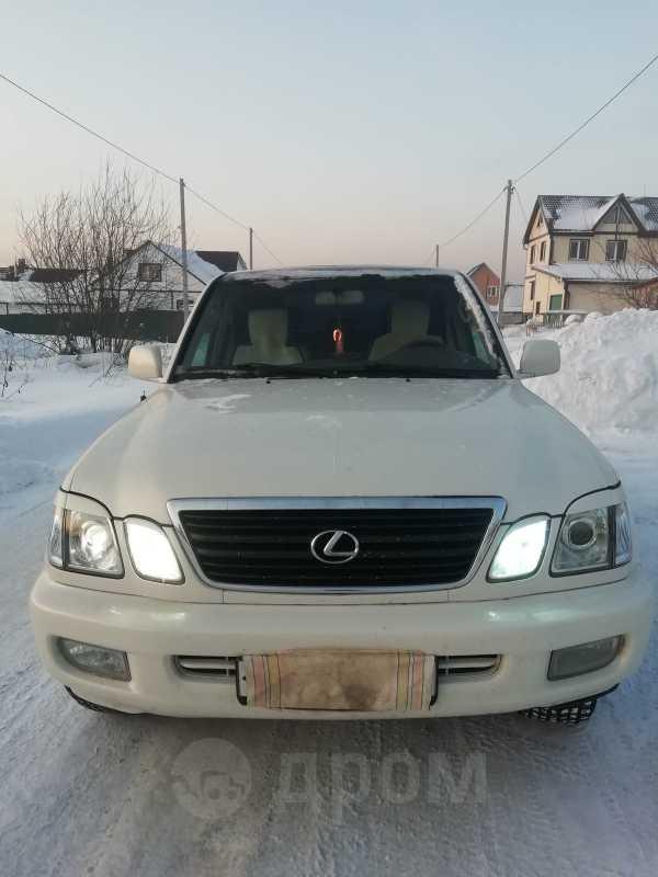 Lexus LX470, 1999 год, 900 000 руб.