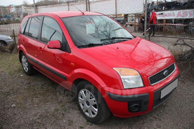 Ford Fusion, 2007 год, 309 000 руб.