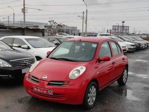 Nissan Micra, 2004 год, 285 000 руб.