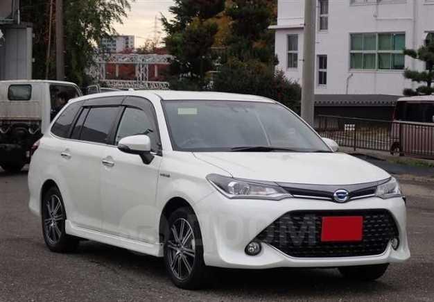 Toyota Corolla Fielder, 2016 год, 495 000 руб.
