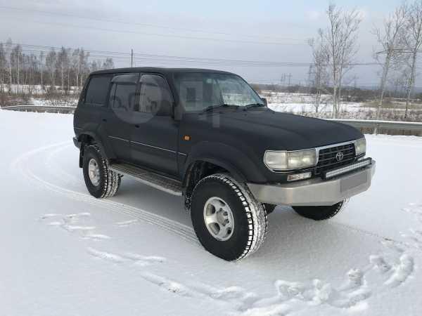 Toyota Land Cruiser, 1996 год, 1 090 000 руб.