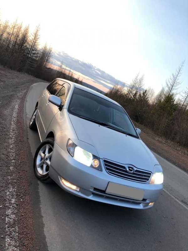 Toyota Corolla Fielder, 2003 год, 210 000 руб.