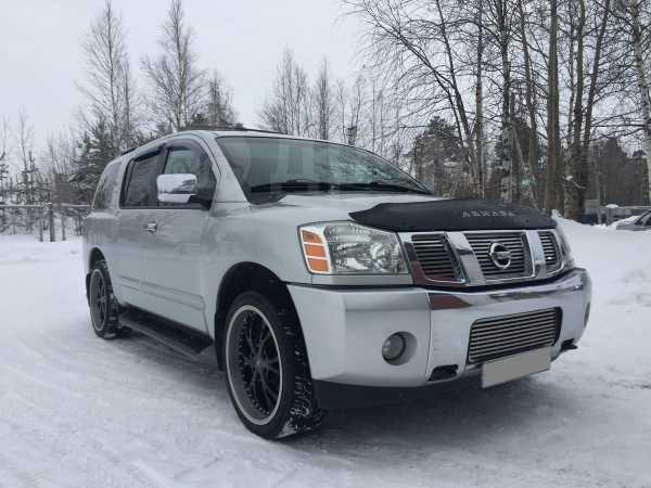 Nissan Armada, 2003 год, 550 000 руб.