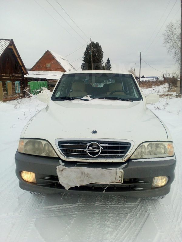 SsangYong Musso, 2002 год, 310 000 руб.