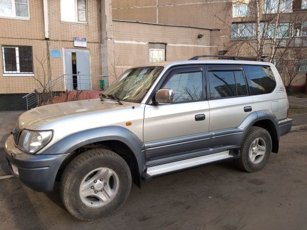 Toyota Land Cruiser Prado, 2000 год, 670 000 руб.