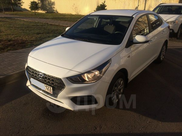 Hyundai Solaris, 2018 год, 695 000 руб.