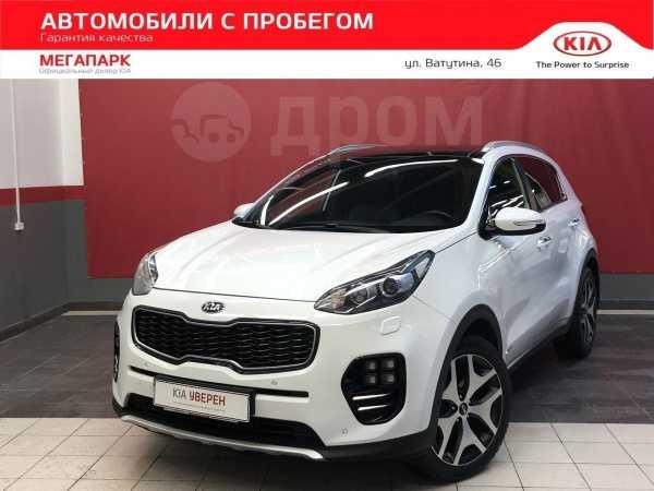 Kia Sportage, 2017 год, 1 490 000 руб.