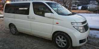 Nissan Elgrand, 2005