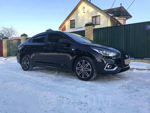 Hyundai Solaris, 2018 год, 915 000 руб.