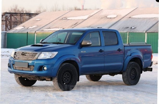 Toyota Hilux Pick Up, 2014 год, 1 100 001 руб.