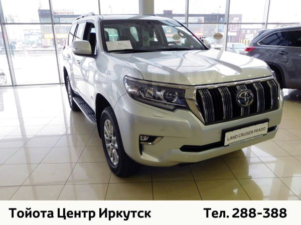 Toyota Land Cruiser Prado, 2019 год, 4 327 000 руб.