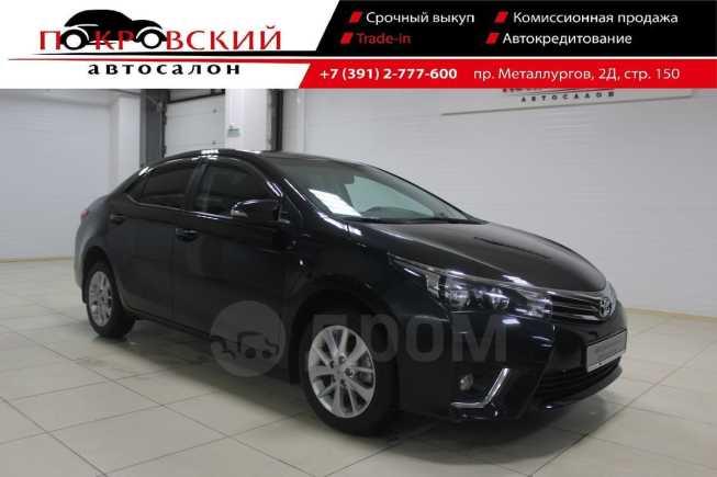 Toyota Corolla, 2016 год, 899 000 руб.