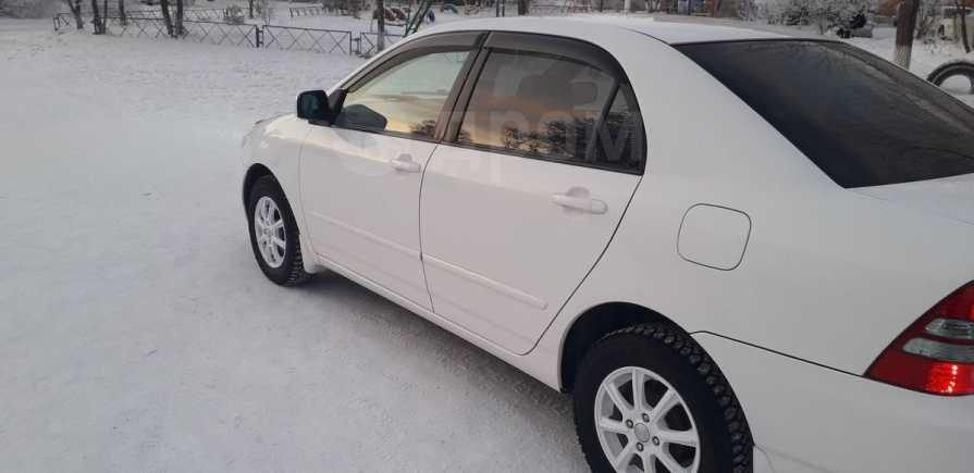 Toyota Corolla, 2002 год, 385 000 руб.