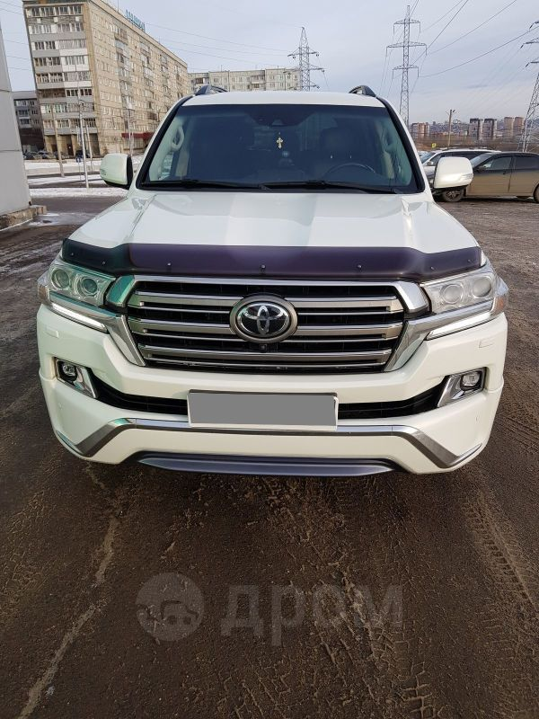 Toyota Land Cruiser, 2016 год, 3 540 000 руб.