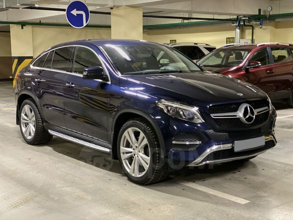 Mercedes-Benz GLE Coupe, 2016 год, 3 250 000 руб.