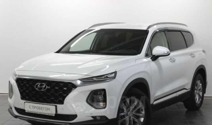Hyundai Santa Fe, 2019 год, 2 200 000 руб.