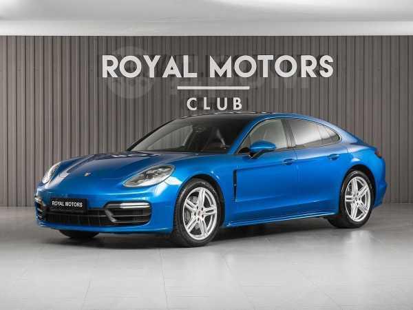 Porsche Panamera, 2018 год, 7 390 000 руб.