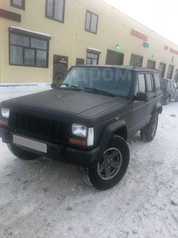 Jeep Cherokee, 1989 год, 400 000 руб.
