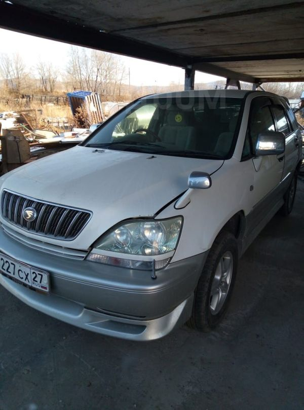 Toyota Harrier, 2001 год, 595 000 руб.