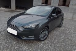 Грозный Ford Focus 2015