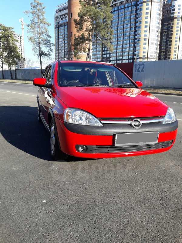 Opel Corsa, 2003 год, 210 000 руб.