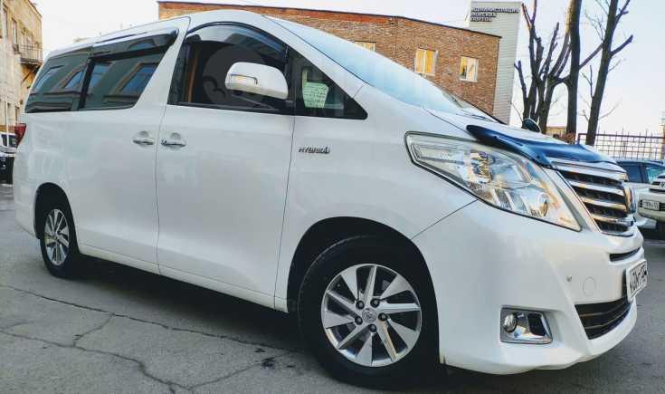 Toyota Alphard, 2012 год, 1 400 000 руб.