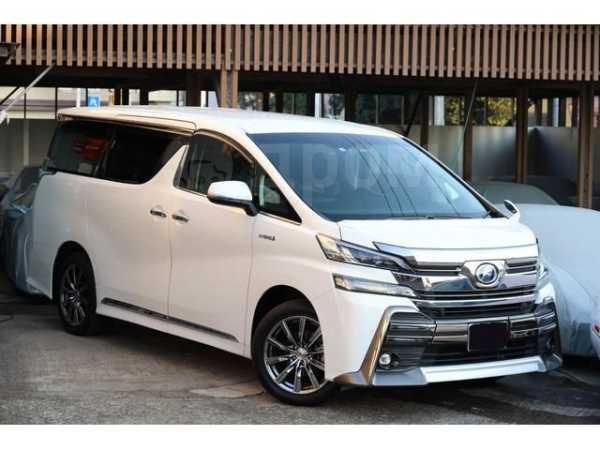 Toyota Vellfire, 2017 год, 1 393 000 руб.