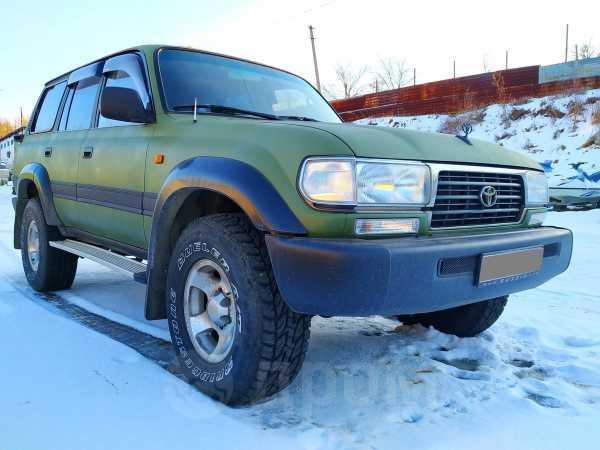 Toyota Land Cruiser, 1996 год, 930 000 руб.