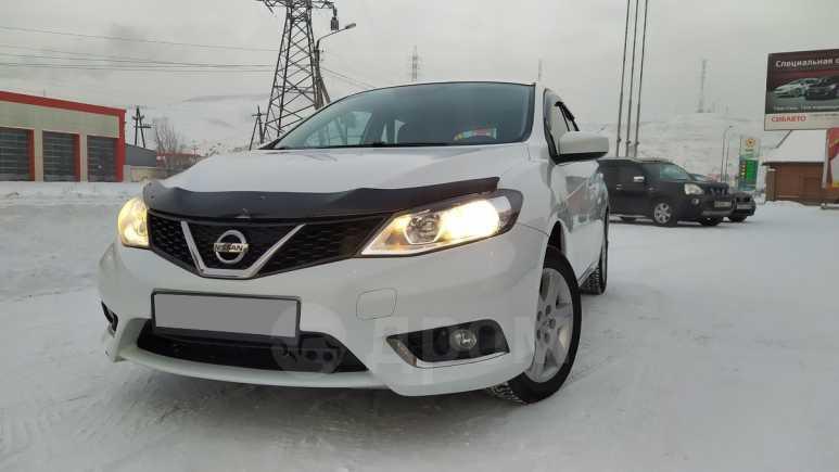 Nissan Tiida, 2015 год, 695 000 руб.