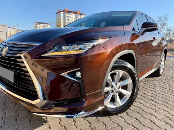 Lexus RX200t, 2016 год, 2 990 000 руб.