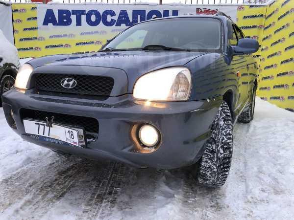 Hyundai Santa Fe, 2002 год, 299 777 руб.