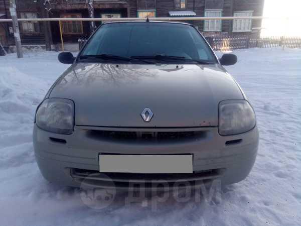 Renault Clio, 2002 год, 110 000 руб.