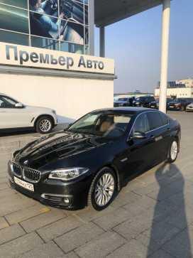 Владивосток BMW 5-Series 2016