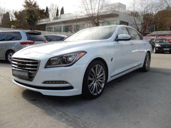 Hyundai Genesis, 2015 год, 1 870 000 руб.