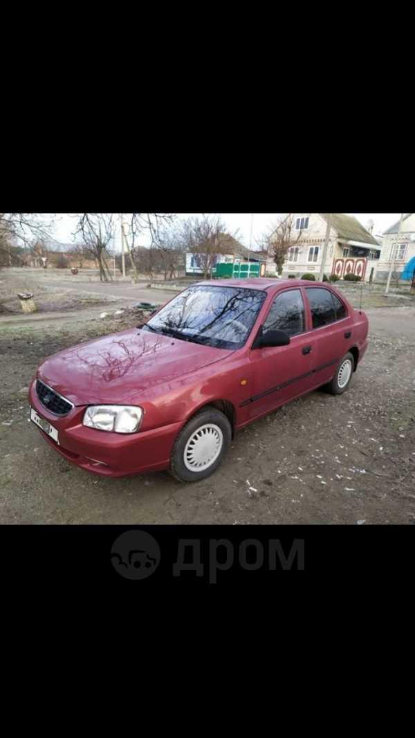 Hyundai Accent, 2003 год, 210 000 руб.