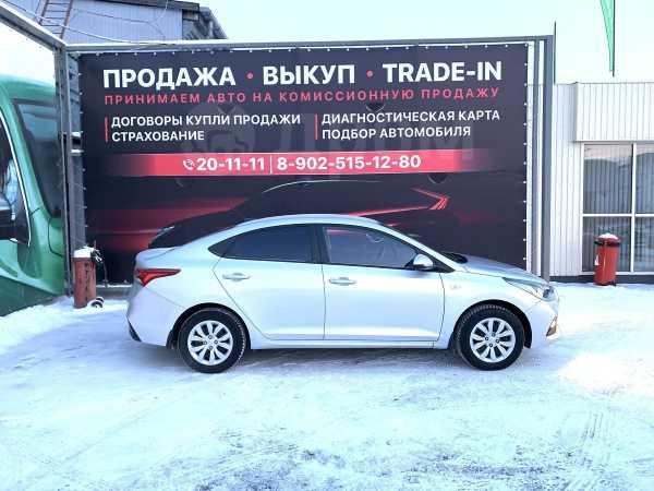 Hyundai Solaris, 2017 год, 738 000 руб.