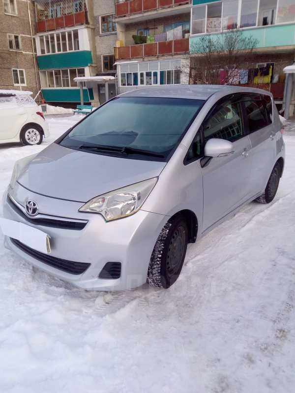 Toyota Ractis, 2012 год, 550 000 руб.