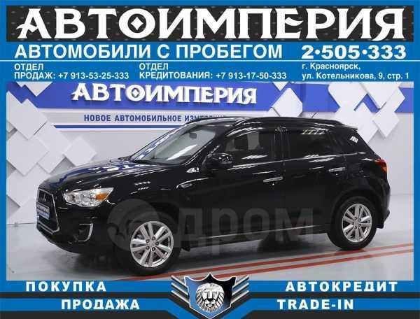 Mitsubishi ASX, 2013 год, 808 000 руб.