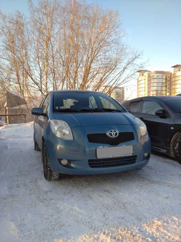 Toyota Yaris, 2007 год, 375 000 руб.