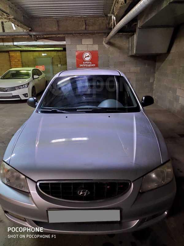 Hyundai Accent, 2004 год, 165 000 руб.