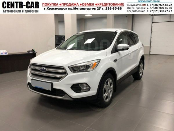 Ford Kuga, 2017 год, 1 170 000 руб.