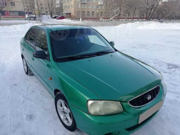 Hyundai Accent, 2002 год, 100 000 руб.