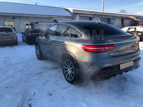 Mercedes-Benz GLE Coupe, 2017 год, 5 500 000 руб.