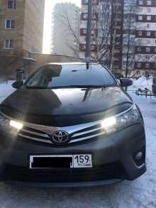 Пермь Corolla 2013